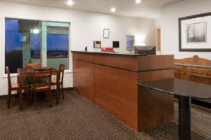 Super 8 Fort Bragg Hotel Front Desk